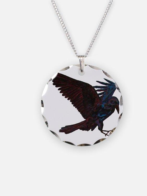 Odin's Raven Necklace
