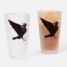 Odin's Raven Drinking Glass