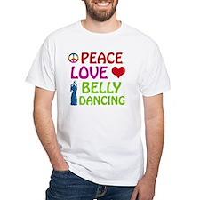 Peace Love Belly Dancing Shirt