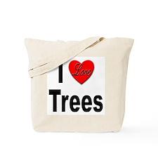 I Love Trees Tote Bag