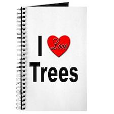 I Love Trees Journal