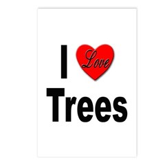 I Love Trees Postcards (Package of 8)