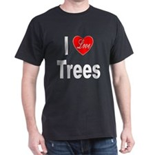 I Love Trees (Front) T-Shirt
