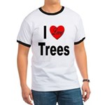 I Love Trees (Front) Ringer T