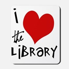 Library Love  Mousepad