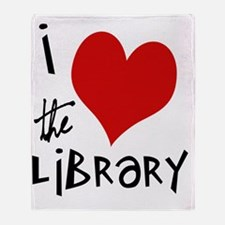 Library Love  Throw Blanket