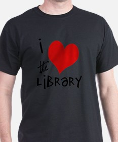 Library Love  T-Shirt