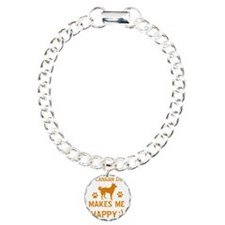 My Canaan Dog Makes Me H Bracelet