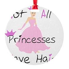 Bald Beautiful Princess Ornament