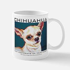 Tiny Footprints Chihuahua Mug
