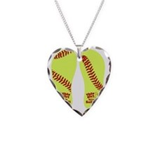 This Girl Loves Softball Necklace