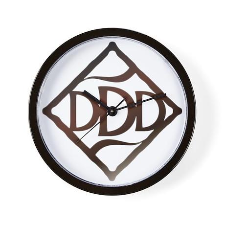 DDD Logo Wall Clock