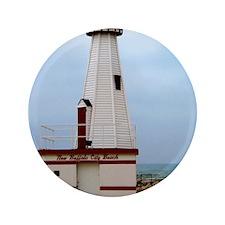 "Beach Lighthouse 3.5"" Button"
