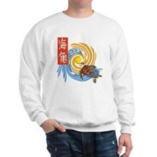 SEA TURTLE IN JAPANESE Sweater