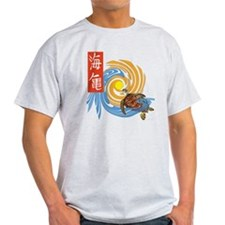SEA TURTLE IN JAPANESE T-Shirt