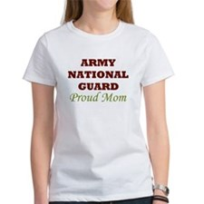 National Guard Proud Mom Tee