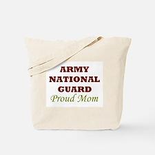 National Guard Proud Mom Tote Bag