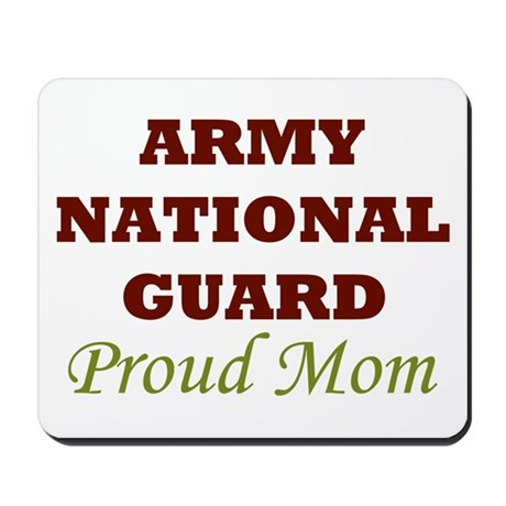 National Guard Proud Mom Mousepad