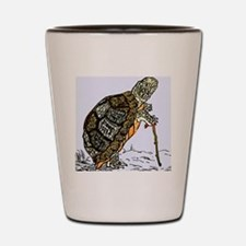 Our wise old friend the turtle Shot Glass