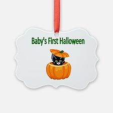 Babys First Halloween Ornament