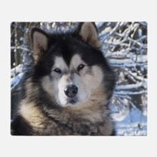 Loup Throw Blanket