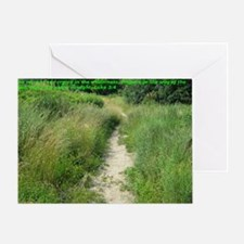 Making the paths straight for the Lo Greeting Card