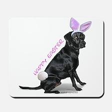 Easter Bunny Labrador Mousepad
