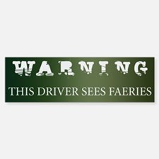 Faeries Bumper Car Car Sticker