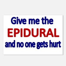 Give me the epidural and  Postcards (Package of 8)