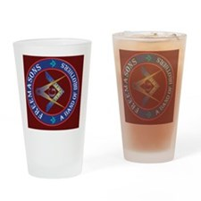 5x7 rug Masonic Brothers Drinking Glass