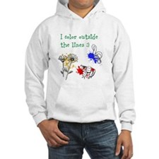 I Color Outside the Lines Hoodie