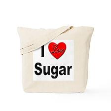 I Love Sugar Tote Bag