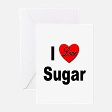 I Love Sugar Greeting Cards (Pk of 10)