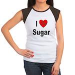 I Love Sugar Women's Cap Sleeve T-Shirt