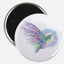 Hummingbird Art Magnet