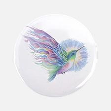 """Hummingbird Art 3.5"""" Button"""
