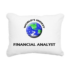World's Sexiest Financia Rectangular Canvas Pillow
