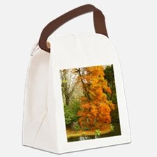 Willow in Autumn colors Canvas Lunch Bag