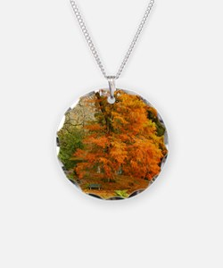 Willow in Autumn colors Necklace