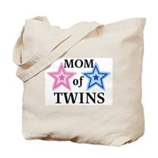 Mom of Twins (Girl, Boy) Tote Bag