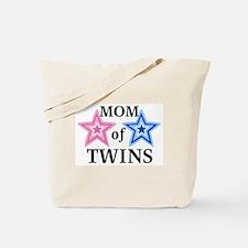 Mom of Twins (Girl, Boy) Tote Bag