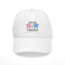 Mom of Twins (Girl, Boy) Baseball Cap