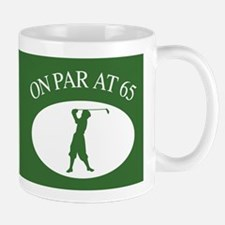 Golfer's 65th Birthday Mug