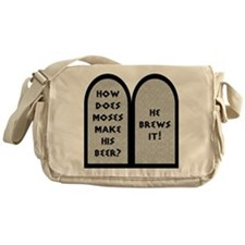 Moses Beer Pun Messenger Bag