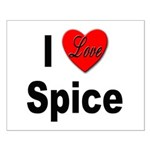 I Love Spice Small Poster