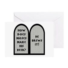 Moses Beer Pun Greeting Card