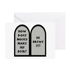 Moses Beer Pun Greeting Cards (Pk of 20)