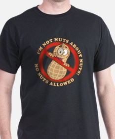 No Nuts Allowed (Light) T-Shirt