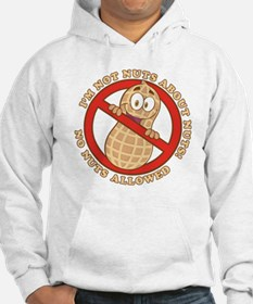 No Nuts Allowed (Light) Hoodie