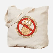 No Nuts Allowed (Light) Tote Bag